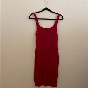 Zara Red Tank Top Dress - Small
